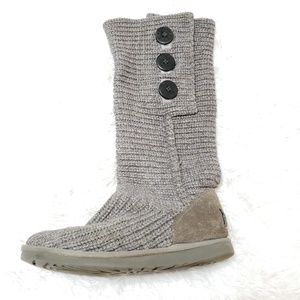 Ugg | Sweater Tall Button Side Boots